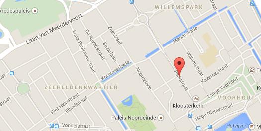 Hague map