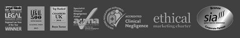 logos of accreditation