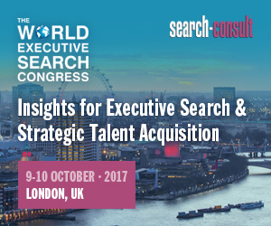 The 2017 World Executive Search Congress - Oct 9-10, London, UK