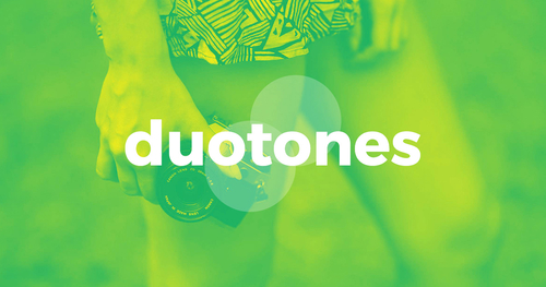Create your duotones using this nifty online tool