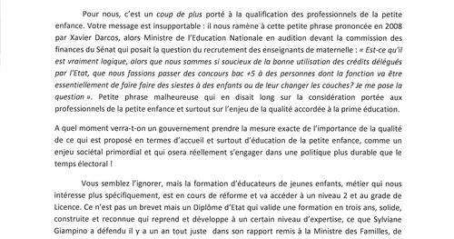 [AForMEJE] Lettre ouverte à Marlène Schiappa, secrétaire d'Etat chargée de l'Egalité entre les femme