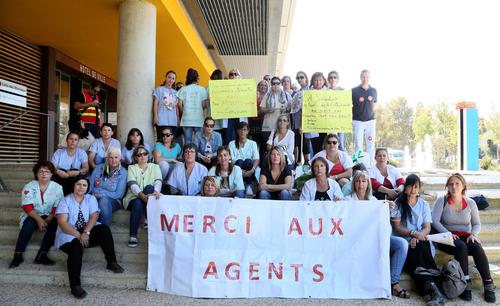 Istres : les Atsem reconduisent leur mouvement de grève