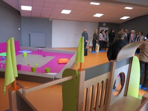 Les P'tites Madeleines, lieu unique pour la petite enfance, a été inauguré ce samedi matin