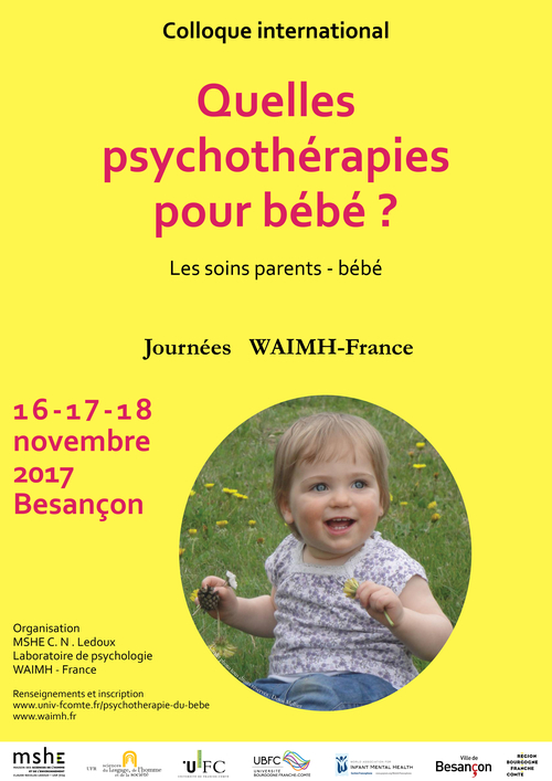 Quelles psychothérapies pour bébé ?  Les soins parents-bébés