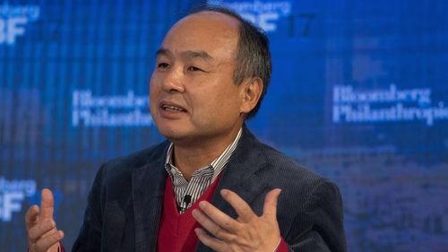 SoftBank Founder Builds an Empire on Debt and Charm