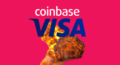 VISA officially blames cryptocurrency overcharge scandal on Coinbase