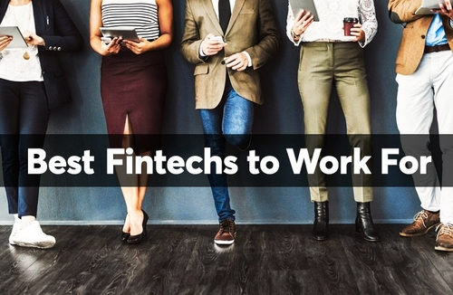 The best fintech start-ups to work for... by unconventional perks