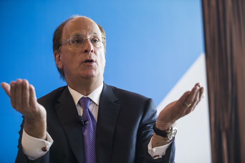 BlackRock's Larry Fink calls cryptocurrencies 'an index of money laundering