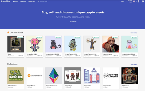 Rare Bits raises $6 million for site where you can buy and sell CryptoKitties