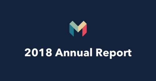 Publishing our 2018 Annual Report!