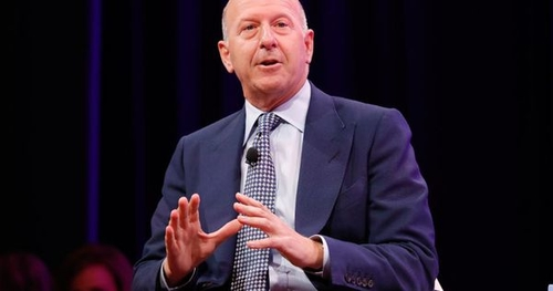 Goldman Sachs' new CEO David Solomon is keen on bitcoin and crypto