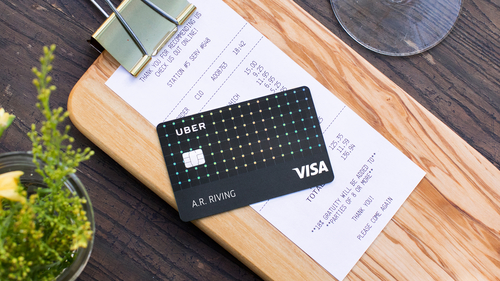 Uber introduces a credit card