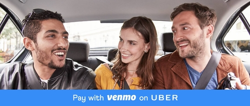 Uber Launches Venmo Payment Integration