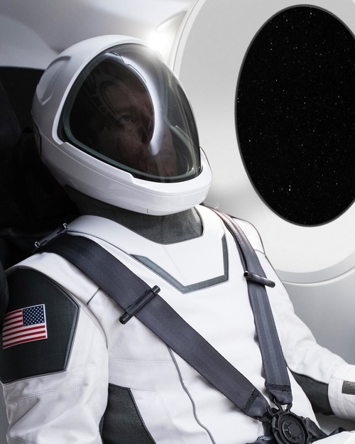 SpaceX Spacesuit Revealed
