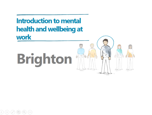 Mental health workshops - Brighton and London 20 June 2017