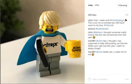 5 software companies rocking Instagram