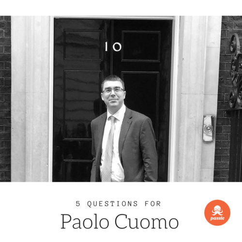 'To be genuine it needs to be triggered by a thought': 5 Questions for Paolo Cuomo