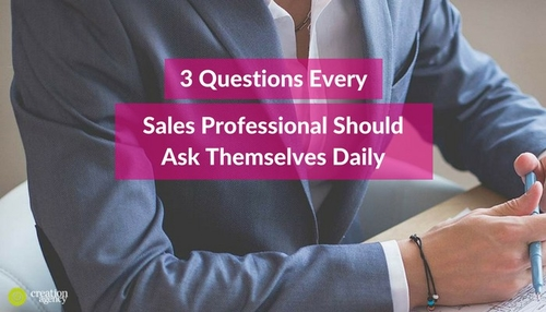 3 Questions that will accelerate your sales productivity