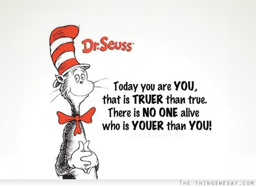 Authenticity in B2B communications - Do what Dr Seuss says.....