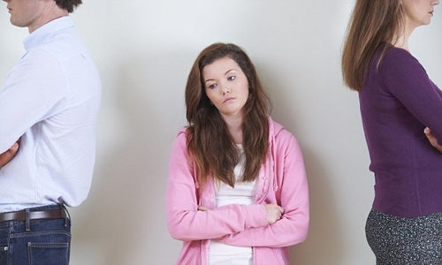 Children of divorced parents who live with a step-mother or father may face greater mental health problems