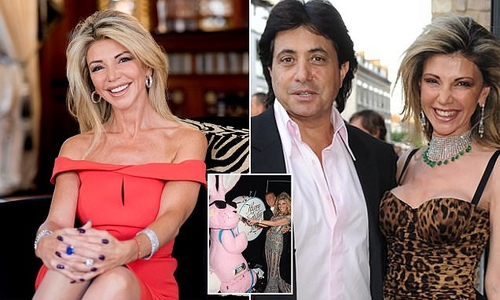 Multi-millionairess who claims settling for a fraction of the £125m she wanted from her ex is the best decision she ever made