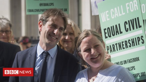Heterosexual couple win right to civil partnership