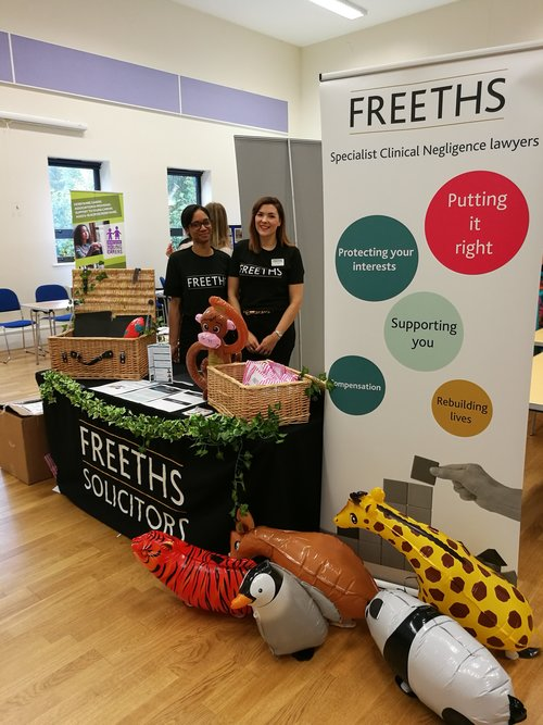 Freeths were at the Umbrella Special Educational Needs Marketplace event today!