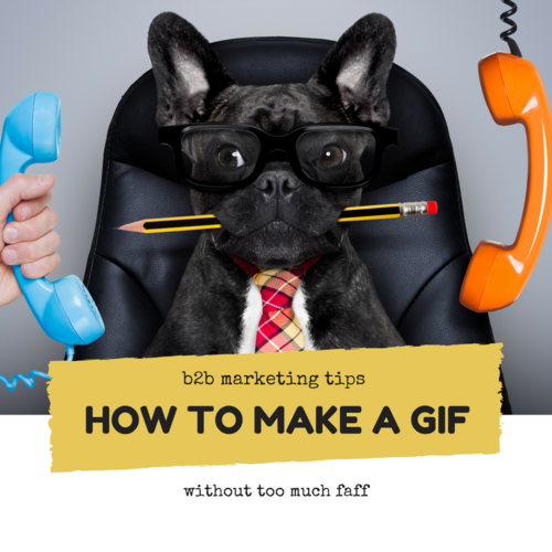 How to create your own GIFs without too much faff