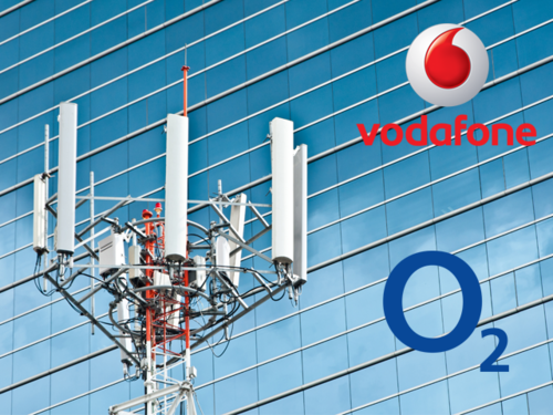 O2 and Vodafone masts provide coverage for 97% of the UK population