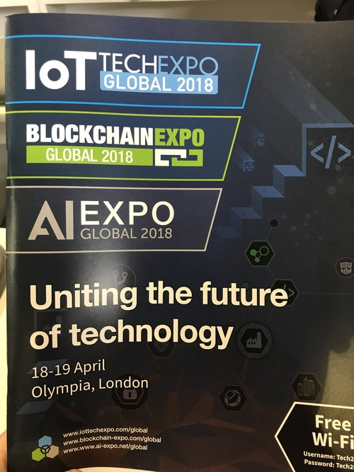 5 things I learned from the 2018 Global IoT Tech Expo