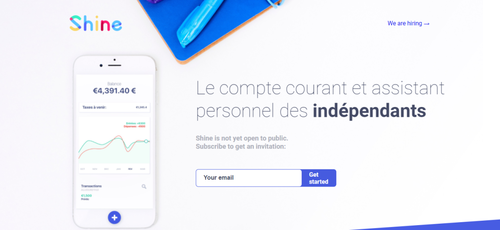 French fintech startup Shine completes a €2.8 million financing round