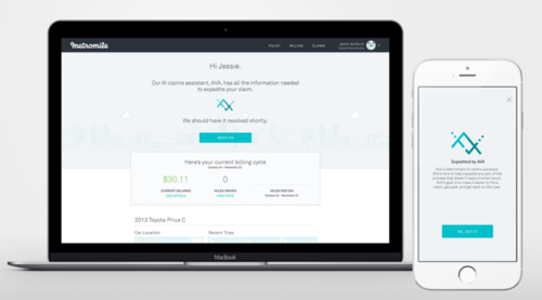 Metromile provides a frictionless claims experience with their new AI claims assistant