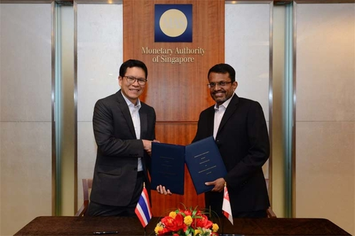 Bank of Thailand and Monetary Authority of Singapore sign FinTech Cooperation Agreement