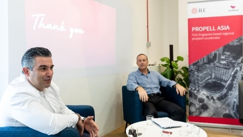 Two major real estate giants join hands for Singapore corporate accelerator