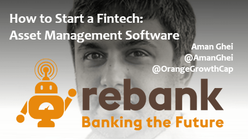 OGC's Aman Ghei Talking About Asset Management Software