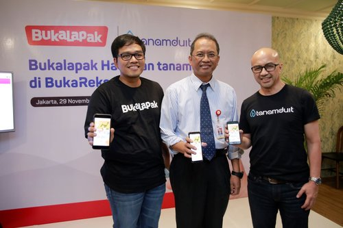 E-commerce unicorn Bukalapak partners with investment platform Tanamduit to diversify into mutual fund products