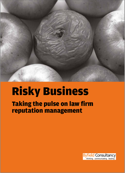 Risky Business – taking the pulse on law firm reputation management