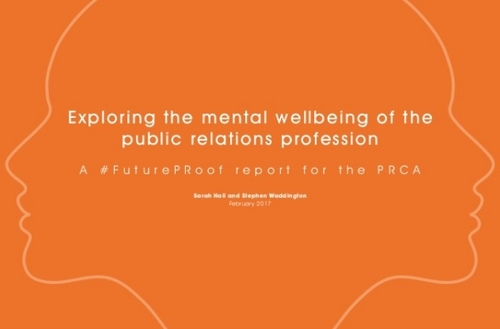 Practical steps from PRCA to tackle mental health in public relations