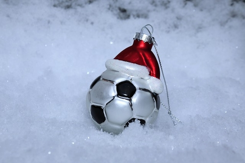 'Merry Christmas Gaffa'  - Christmas for a professional football player