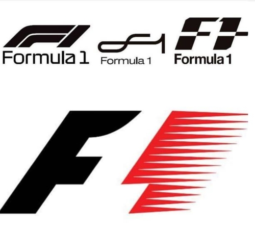New F1 Logo in Pole Position
