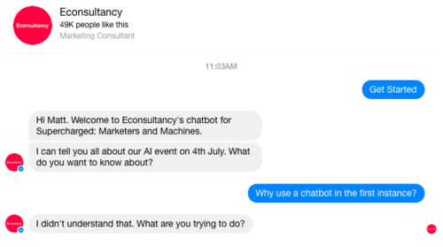 Chatbots - marketers dream, or customer nightmare