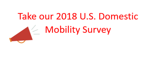 Take our 2018 U.S. Domestic Mobility Program Survey