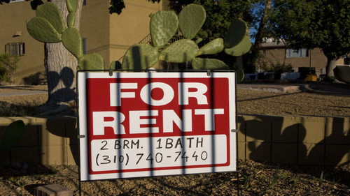 Good news for renters