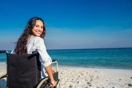 Purple pounds and barrier-free mobility