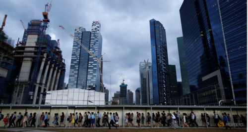 Singapore's workforce shrinks in 2017 for the first time since 2003, but more locals have jobs