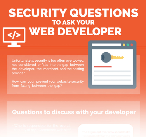Questions to ask your web developer...