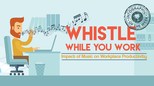 Music at work: Good or bad?
