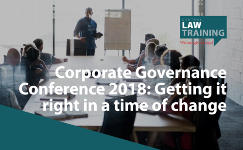 The Highs and Lows of Corporate Governance in 2018