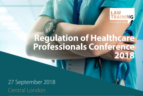 Counting down to the Regulation of Healthcare Professionals Conference 2018