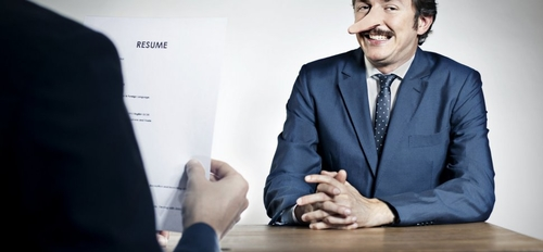 Can you believe that a staggering 85% of job applicants lie on their CV's? How can you tell?